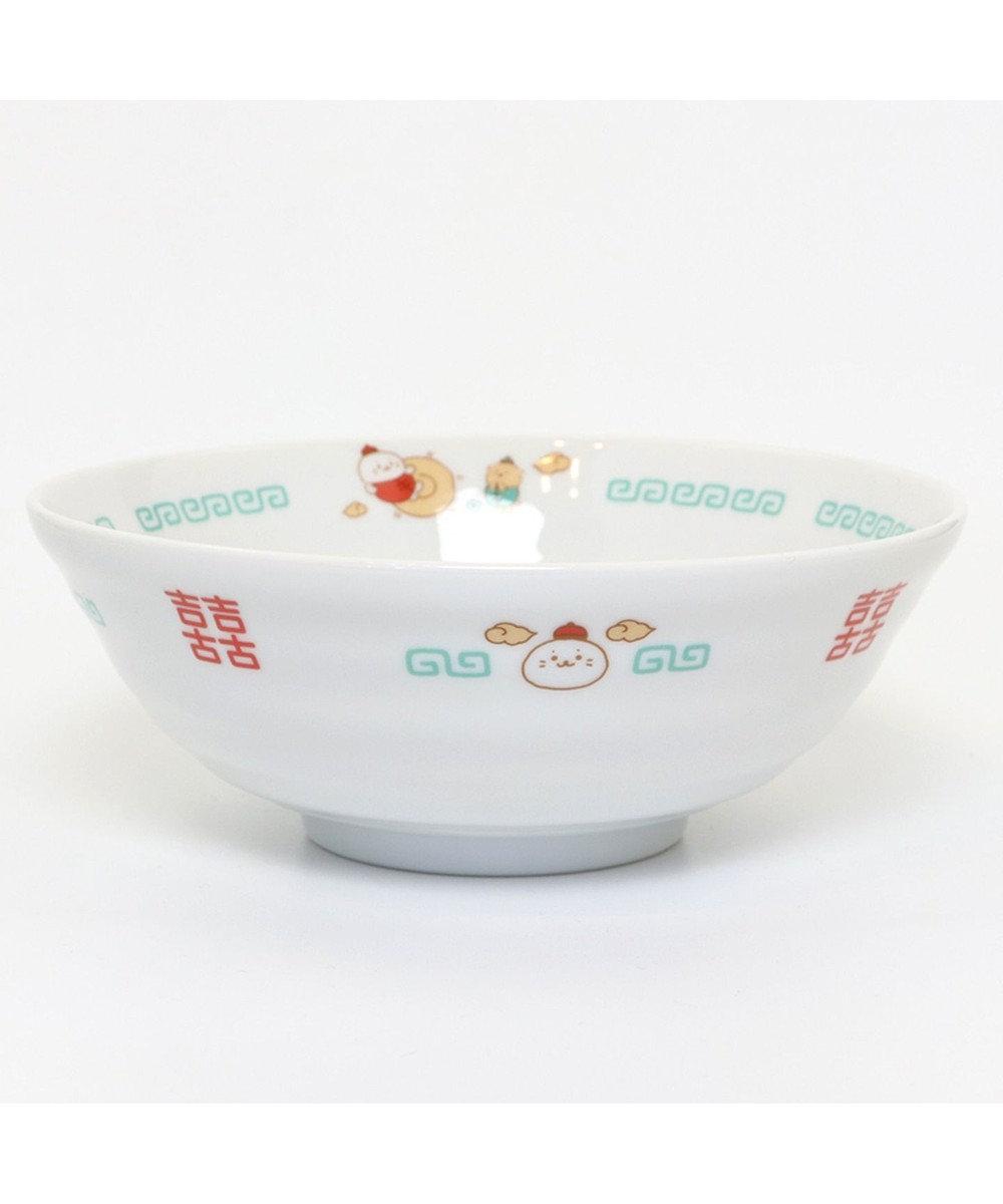 Mother garden しろたん 中華食器 ラーメンどんぶり 《カンフー柄》 大 単品 0