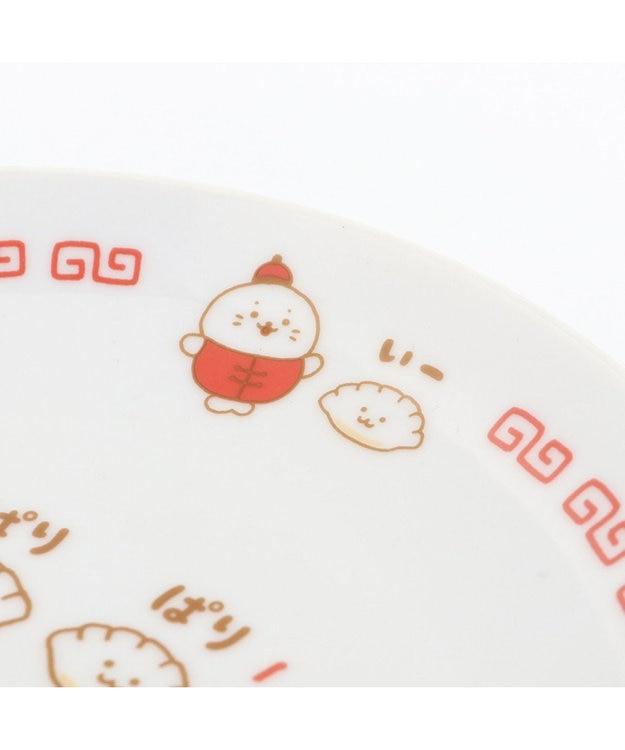 Mother garden しろたん 中華食器 餃子皿 L 単品 日本製