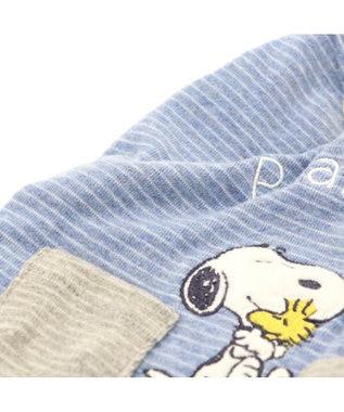 PET PARADISE スヌーピー ハグ ボーダートレーナー 〔中型犬〕 青