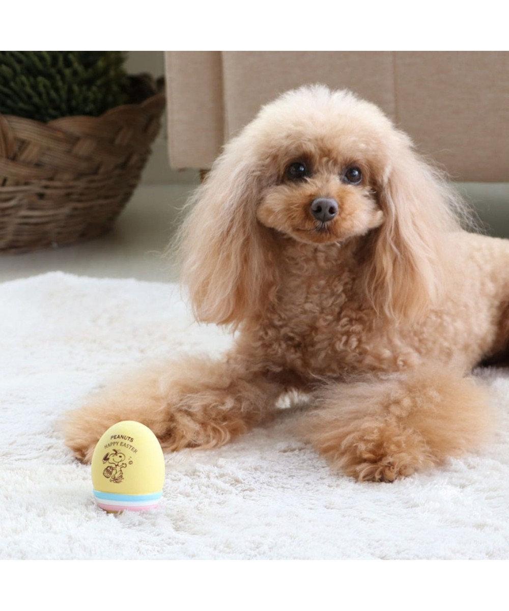 PET PARADISE スヌーピー イースター エッグおもちゃ 愛犬用 トイ TOY 黄