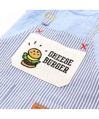 PET PARADISE ペットパラダイス バーガー Tシャツ 〔超小型・小型犬〕 水色