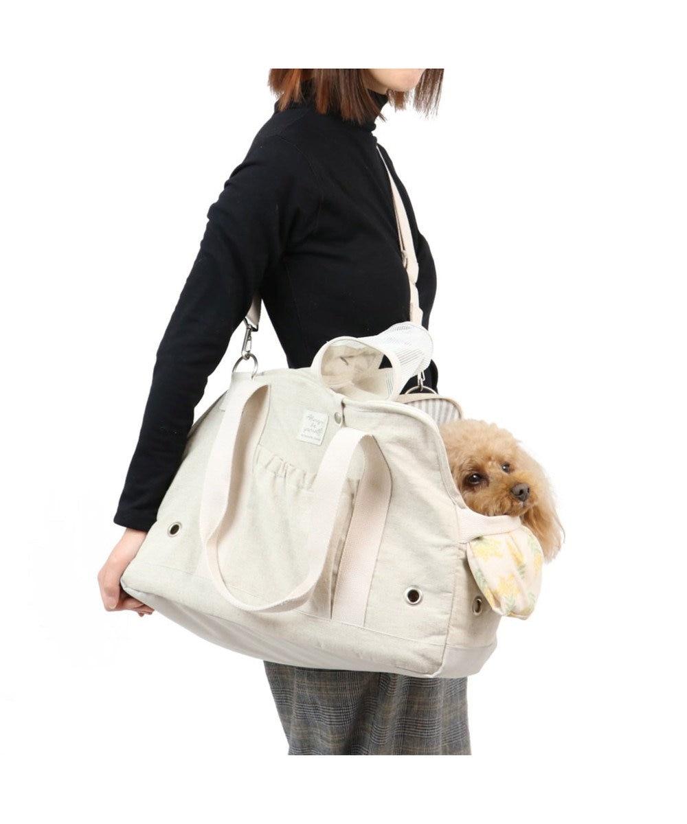 PET PARADISE ペットパラダイス ミモザ キャリーバッグ 〔小型犬〕 ベージュ