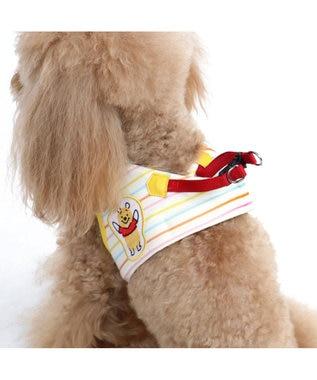 PET PARADISE くまのプーさん らくがき柄 ベストハーネス 4S 〔超小型犬〕 黄
