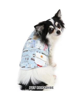 PET PARADISE ペットパラダイス ワッフル キャンプ タンクトップ〔超・小型犬〕 水色