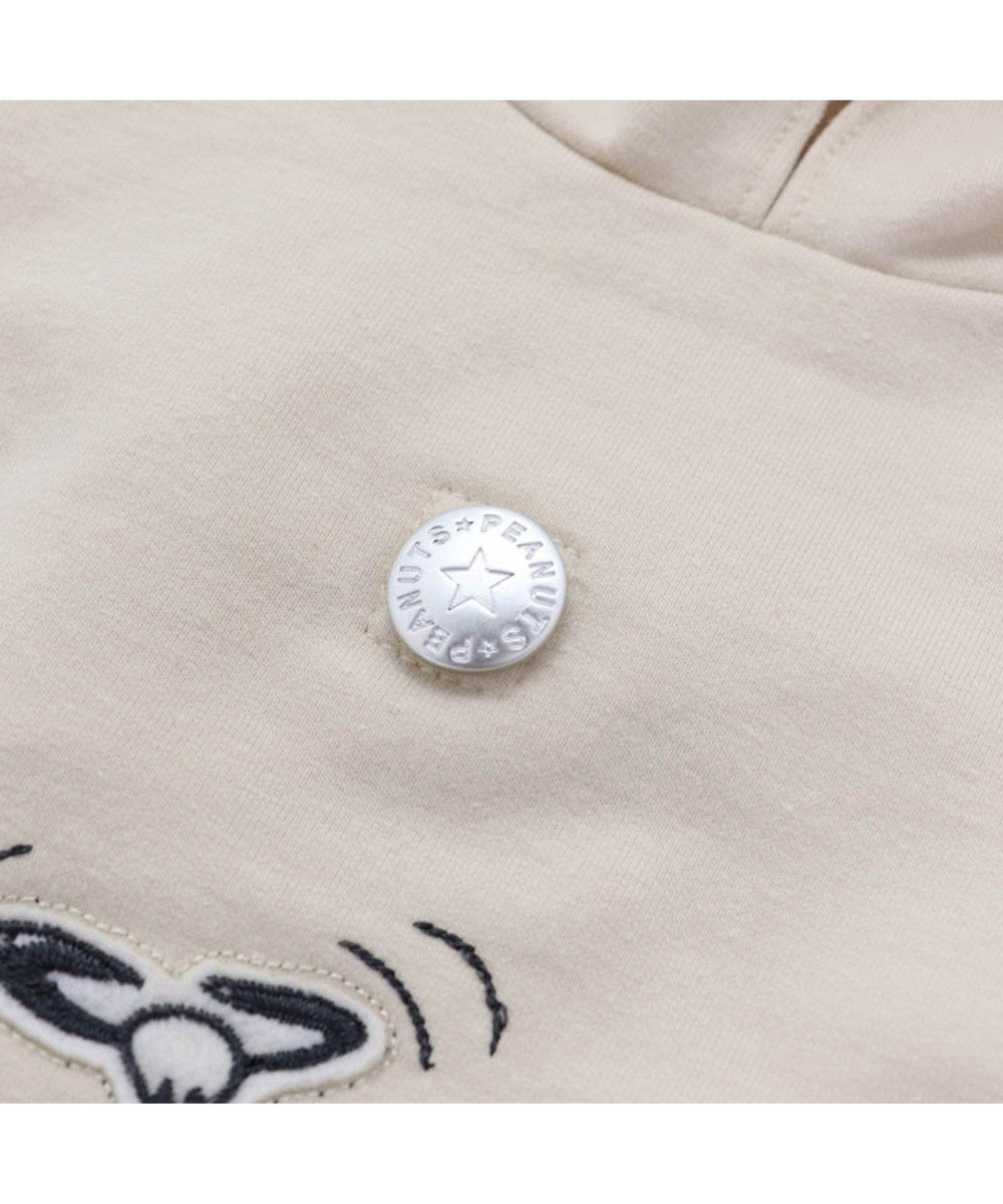 PET PARADISE スヌーピー 70周年 お揃い パーカー 白 〔超小型・小型犬〕 白~オフホワイト