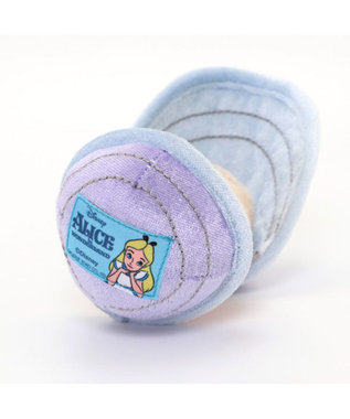 PET PARADISE ディズニー アリス ヤングオイスター トイ 愛犬用 おもちゃ ピンク(淡)