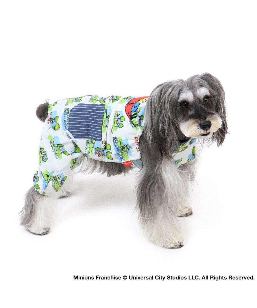 PET PARADISE ミニオン ヤード ワークオーバーオール 〔超小型・小型犬〕 マルチカラー