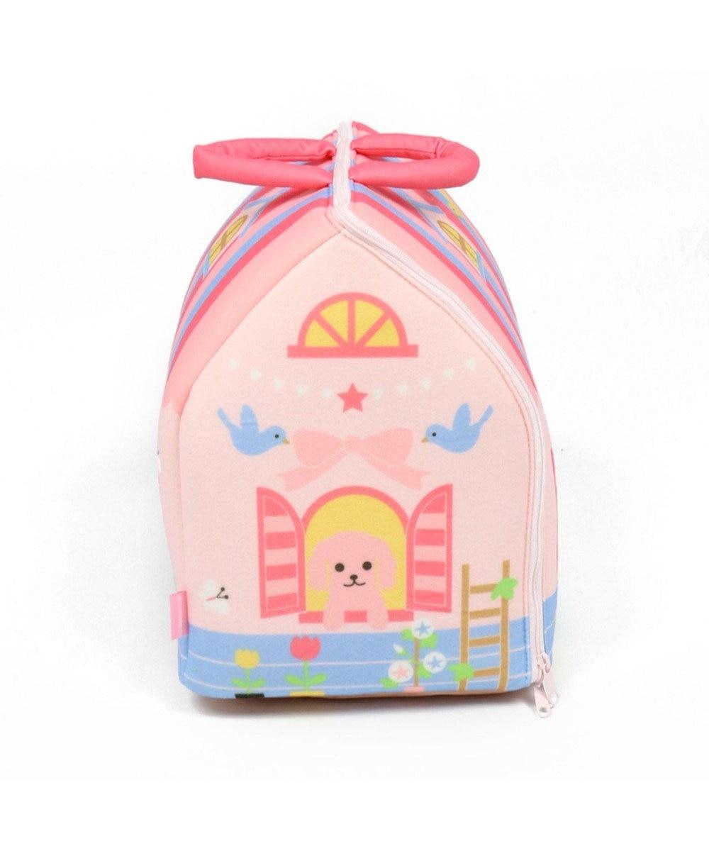 Mother garden いっしょにおさんぽ わんちゃん用 ハウス・桃 ピンク(淡)