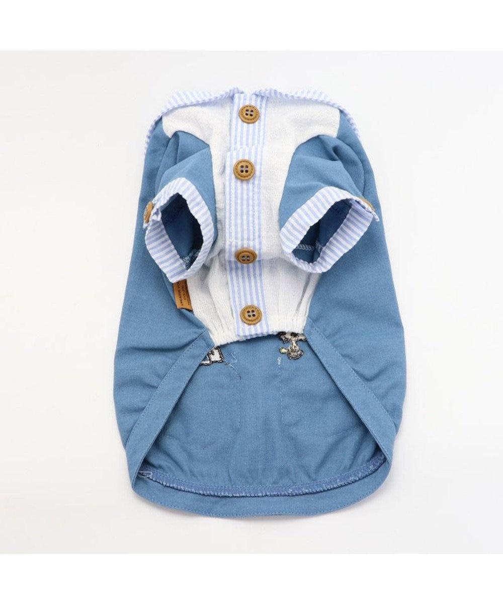 PET PARADISE 犬服 犬 服 ペットパラダイス スヌーピー リネン セーラーシャツ 〔中型犬〕 青