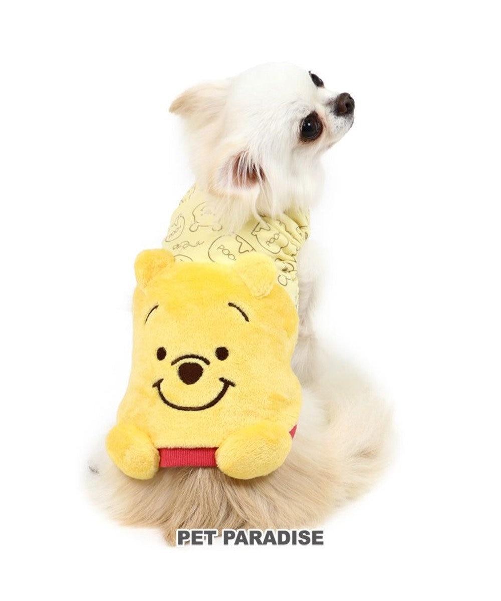 PET PARADISE 犬 服 秋服 ディズニー くまのプーさん ベスト 〔小型犬〕 にこにこ 顔 ペットウエア ペットウェア ドッグウエア ドッグウェア ベビー 超小型犬 小型犬 黄