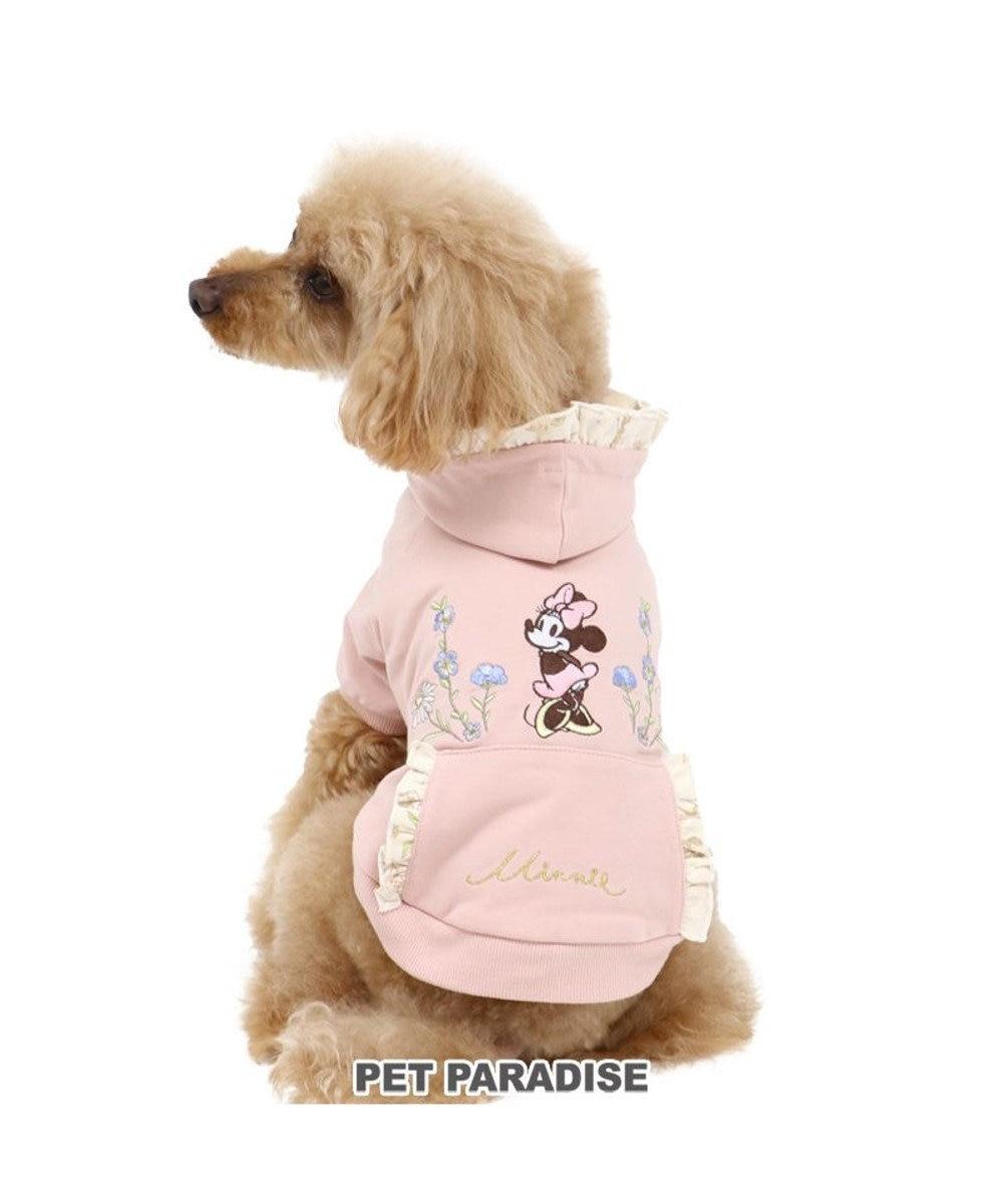 PET PARADISE 犬 服 夏 ディズニー ミニーマウス パーカー 〔小型犬〕 フリル 犬服 犬の服 犬 服 ペットウエア ペットウェア ドッグウエア ドッグウェア ベビー 超小型犬 小型犬 ピンク(淡)