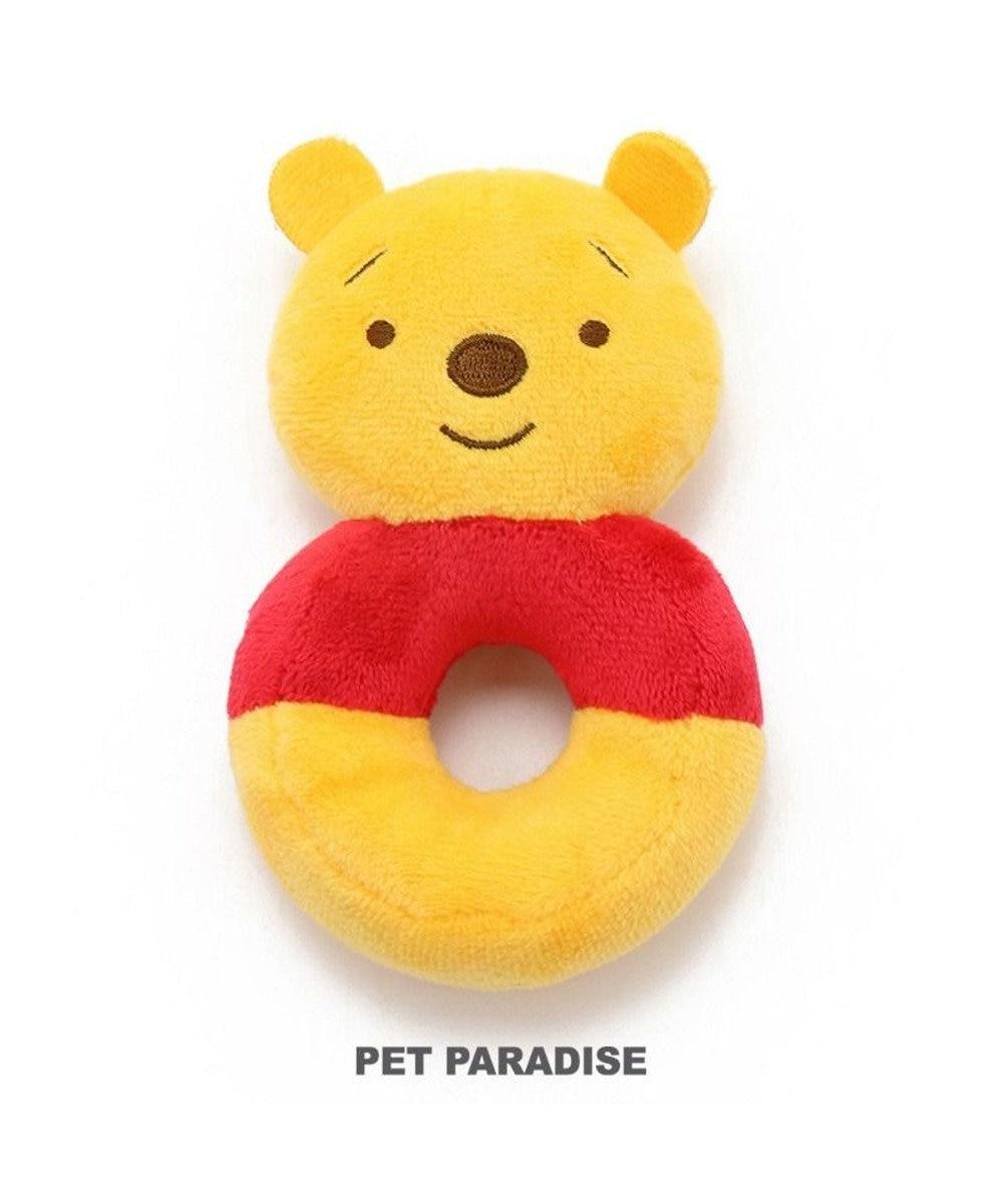 PET PARADISE 犬用品 ペットグッズ 犬 おもちゃ ペットパラダイス 犬 おもちゃ ディズニー くまのプーさん ドーナツ おうちで遊ぼう おうち時間 犬 おもちゃ オモチャ ペットのペットトイ 玩具 TOY 小型犬 おもちゃ かわいい おもしろ インスタ映え キャラクター 黄