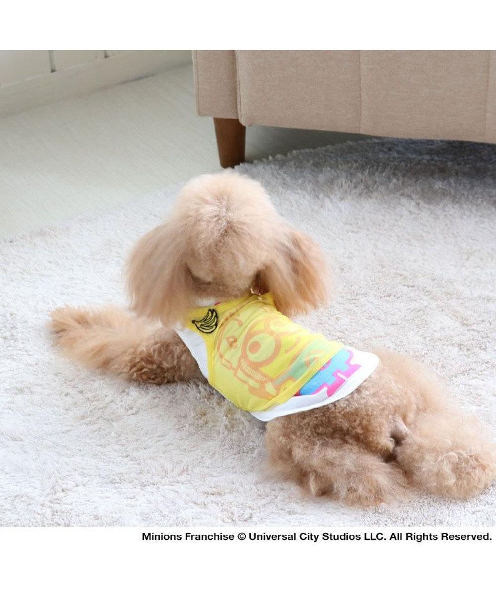 PET PARADISE ミニオン 重ね着 メッシュ タンクトップ  〔超小型・小型犬〕 黄