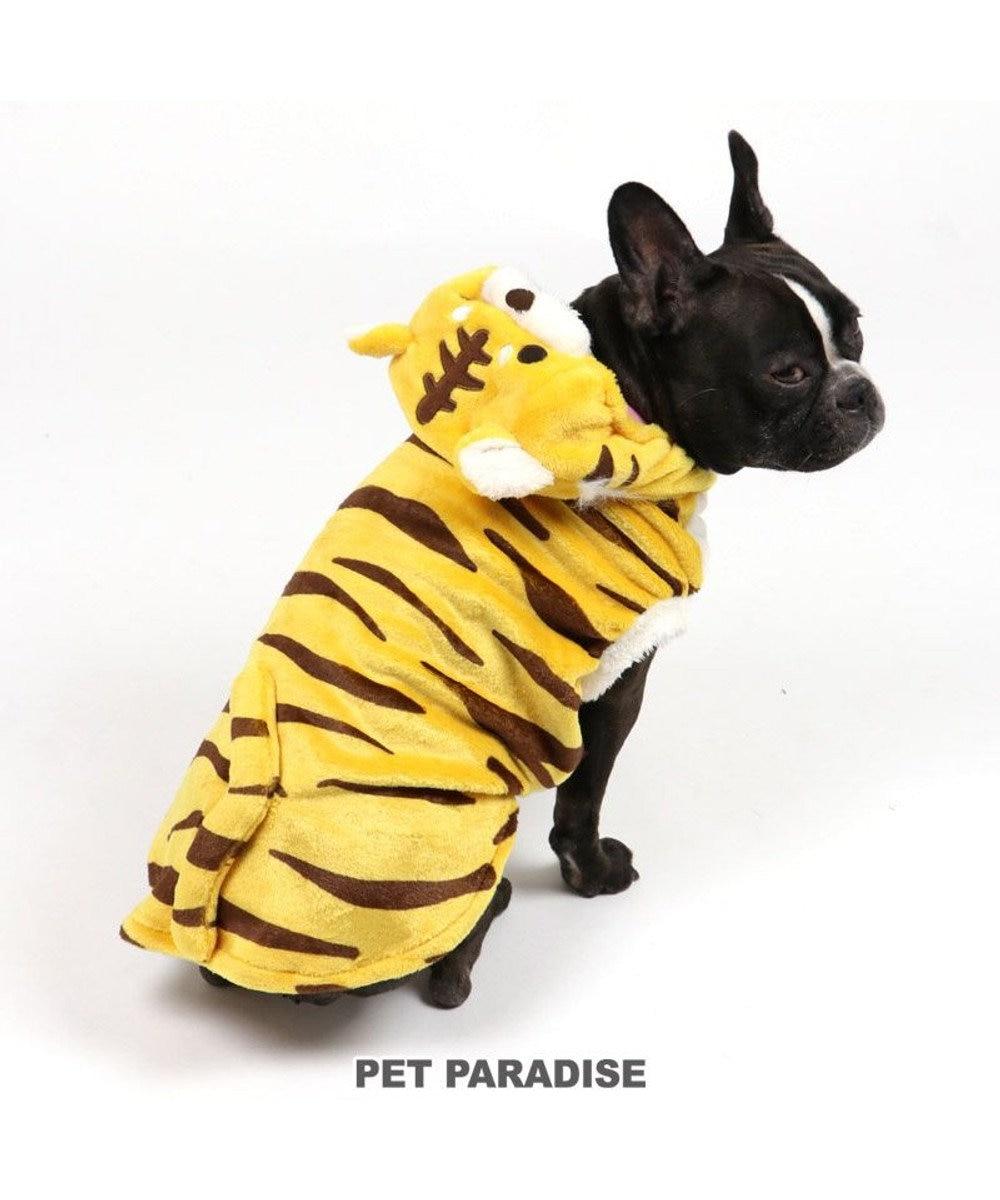 PET PARADISE 犬 服 トラ パーカー 〔中・大型犬〕 とら 虎 2022年 お正月 新年 年賀状 初詣 SNS インスタ映え 着ぐるみ コスチューム コスプレ ドッグウエア ドッグウェア いぬ イヌ おしゃれ かわいい 黄
