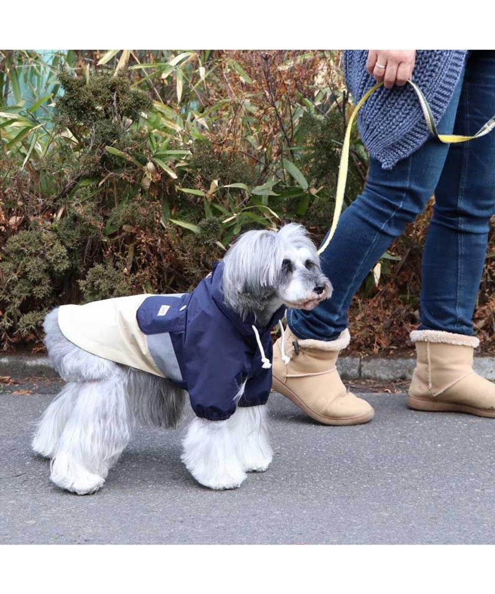 PET PARADISE 犬服 犬 服 ペットパラダイス Lee マウンテン パーカー 〔小型犬〕 超小型犬 小型犬 紺(ネイビー・インディゴ)