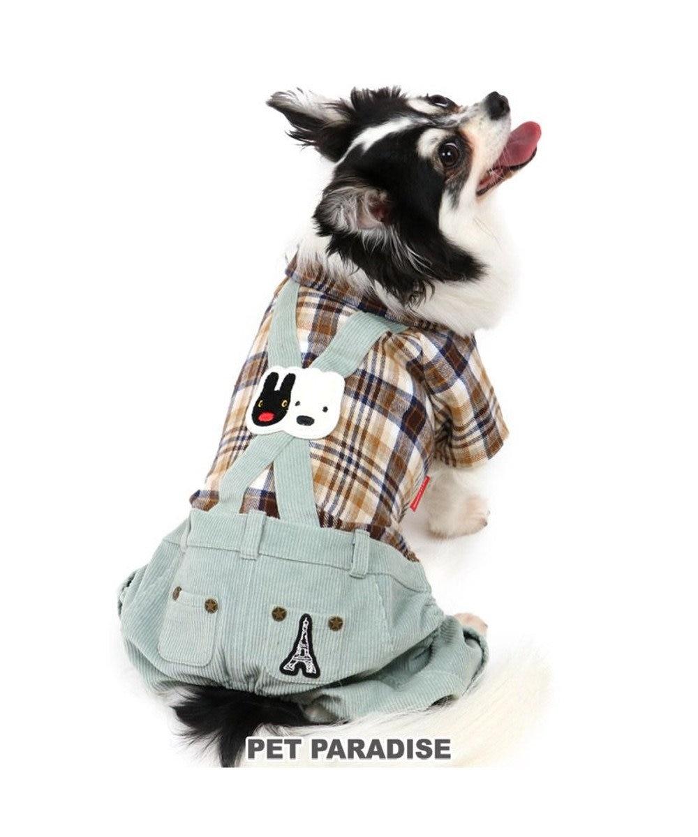 PET PARADISE 犬 服 夏 リサとガスパール パンツつなぎ 〔小型犬〕 秋色チェック 犬服 犬の服 犬 服 ペットウエア ペットウェア ドッグウエア ドッグウェア ベビー 超小型犬 小型犬 マルチカラー