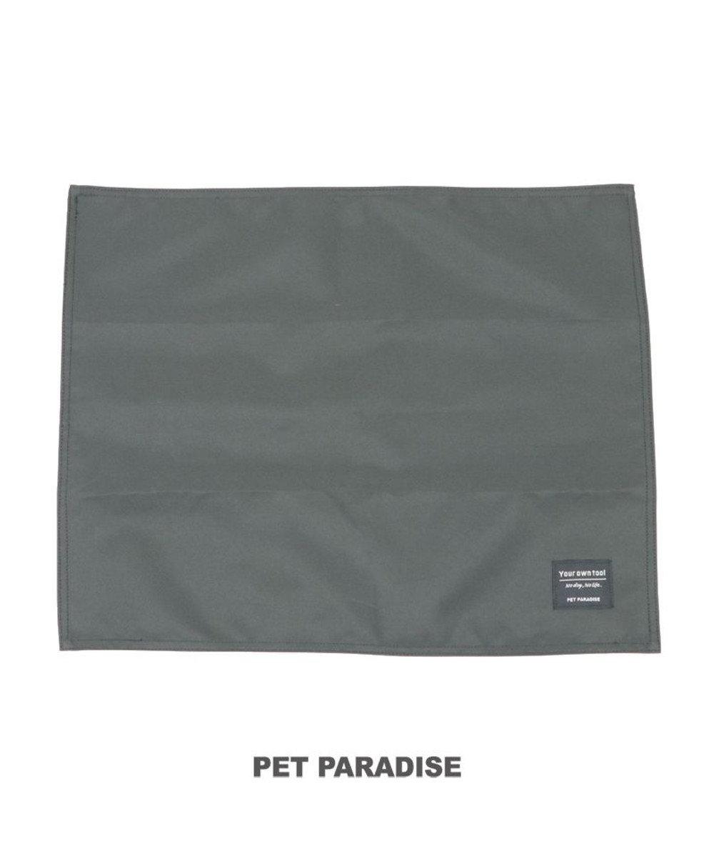 PET PARADISE 犬 猫 マット (50cm×40cm) コーデュラ グレー