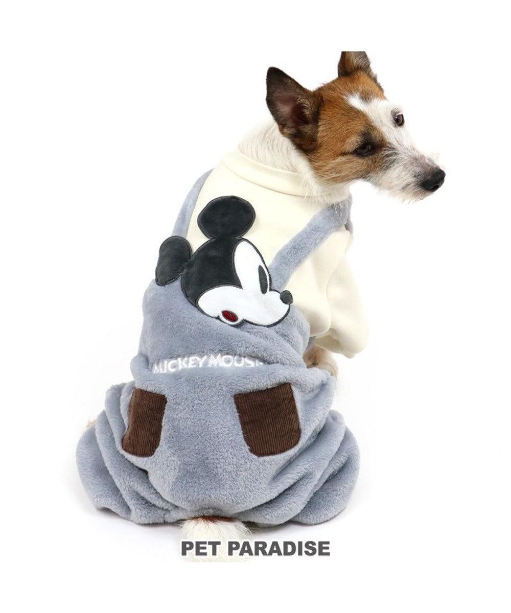 PET PARADISE 犬 服 秋服 ディズニー ミッキーマウス ロンパース 〔小型犬〕 ペア柄 ペットウエア ペットウェア ドッグウエア ドッグウェア ベビー 超小型犬 小型犬 グレー