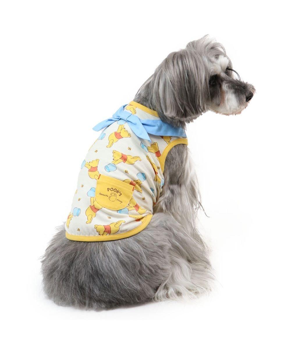 PET PARADISE ディズニー くまのプーさん 水色バンダナ タンクトップ〔小型犬〕 黄