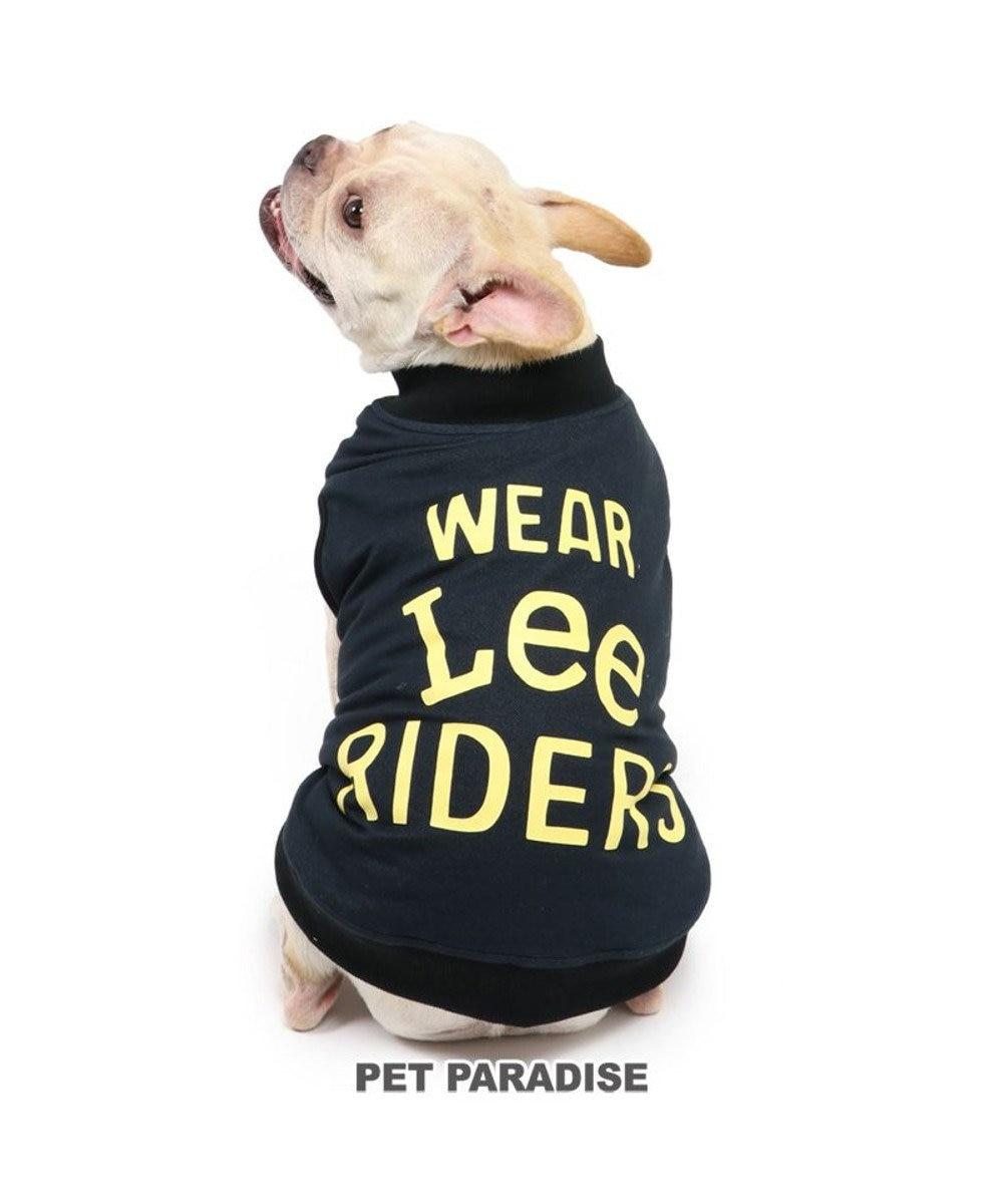 PET PARADISE 犬 服 秋服 Lee ライダース ベスト 〔中型犬〕 黒 犬服 犬の服 犬 服 ペットウエア ペットウェア ドッグウエア ドッグウェア 黒