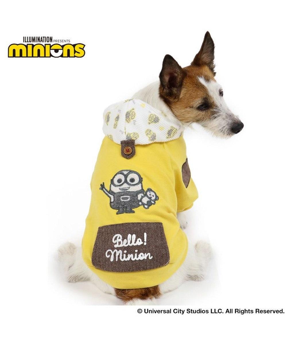 PET PARADISE 犬 服 春夏 ミニオン パーカー 〔小型犬〕 2ボブポケット ドッグウエア ドッグウェア イヌ おしゃれ かわいい 黄