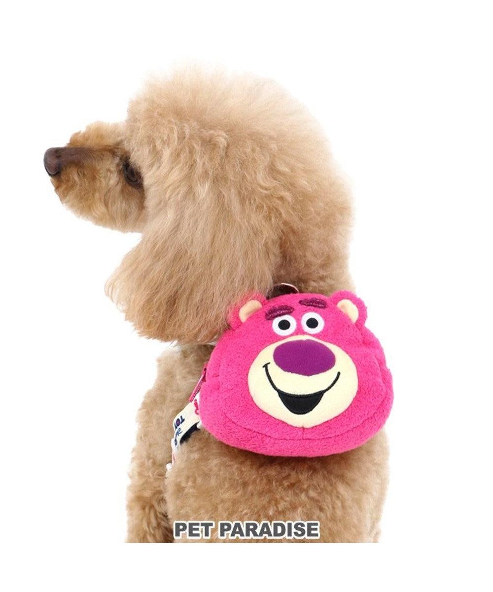 PET PARADISE 犬 ハーネス ディズニー トイ・ストーリー ロッツォ リュクハーネス S 小型犬 迷彩 おさんぽ おでかけ お出掛け おしゃれ オシャレ かわいい ピンク(濃)