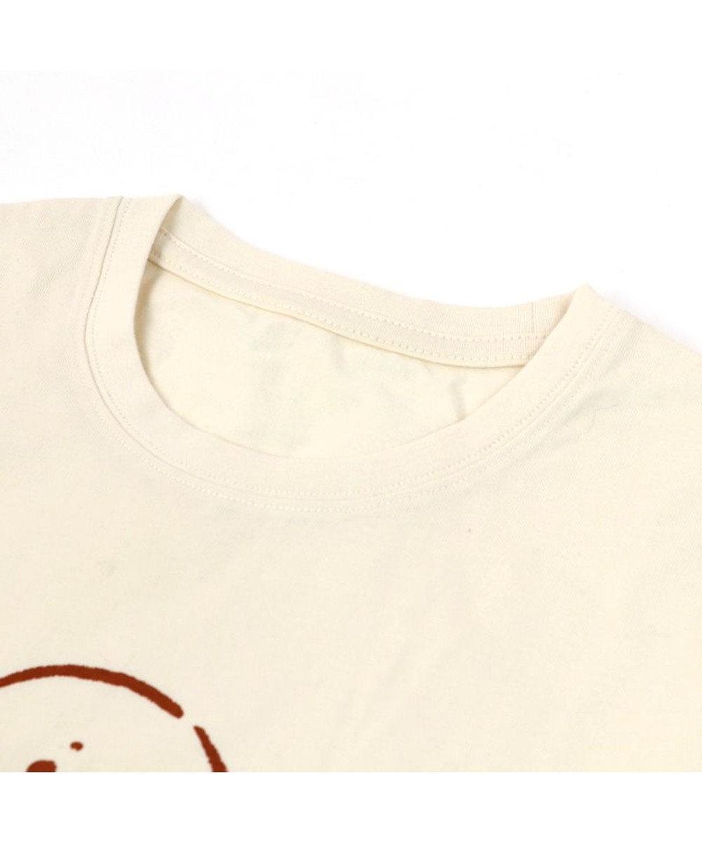 Mother garden しろたん Tシャツ 半袖  《ここはヒザ?!柄》 オフホワイト色 S/M/L/XL レディース メンズ ユニセックス 男女兼用  コットン 綿  あざらし アザラシ かわいい キャラクター 半袖Tシャツ マザーガーデン 白~オフホワイト