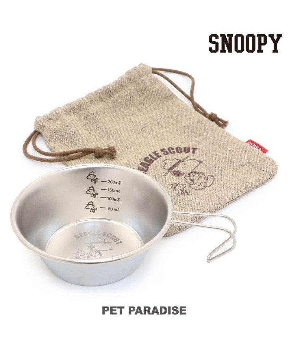 PET PARADISE 犬 フードボウル スヌーピー シェラカップ 犬 フードスタンド フードボウル 犬 食器 シルバー