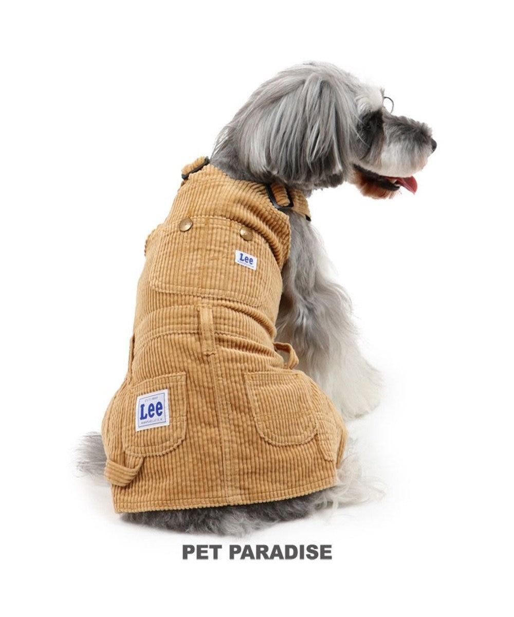 PET PARADISE 犬 服 Lee ワンピース 〔小型犬〕 コーデュロイ ブラウン 犬服 犬の服 犬 服 ペットウエア ペットウェア ドッグウエア ドッグウェア ベビー 超小型犬 小型犬 ベージュ