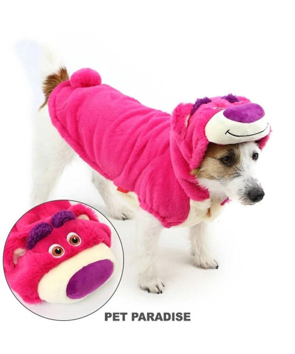 PET PARADISE ディズニー トイストーリー ロッツォ なりきり〔超・小型犬 〕 ピンク(濃)