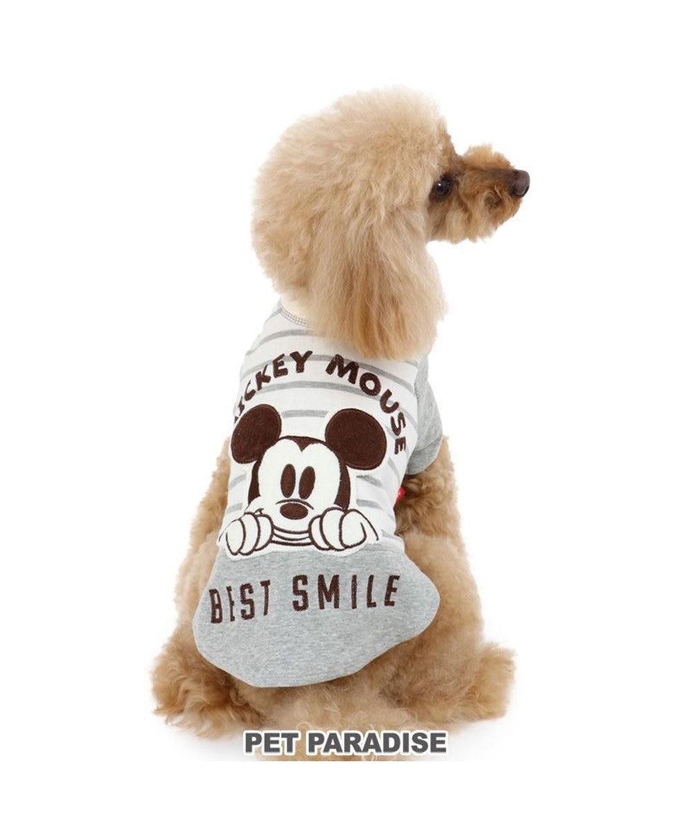 PET PARADISE 犬 服 夏 ディズニー ミッキーマウス Tシャツ 〔小型犬〕 ビスケット 犬服 犬の服 犬 服 ペットウエア ペットウェア ドッグウエア ドッグウェア ベビー 超小型犬 小型犬 グレー