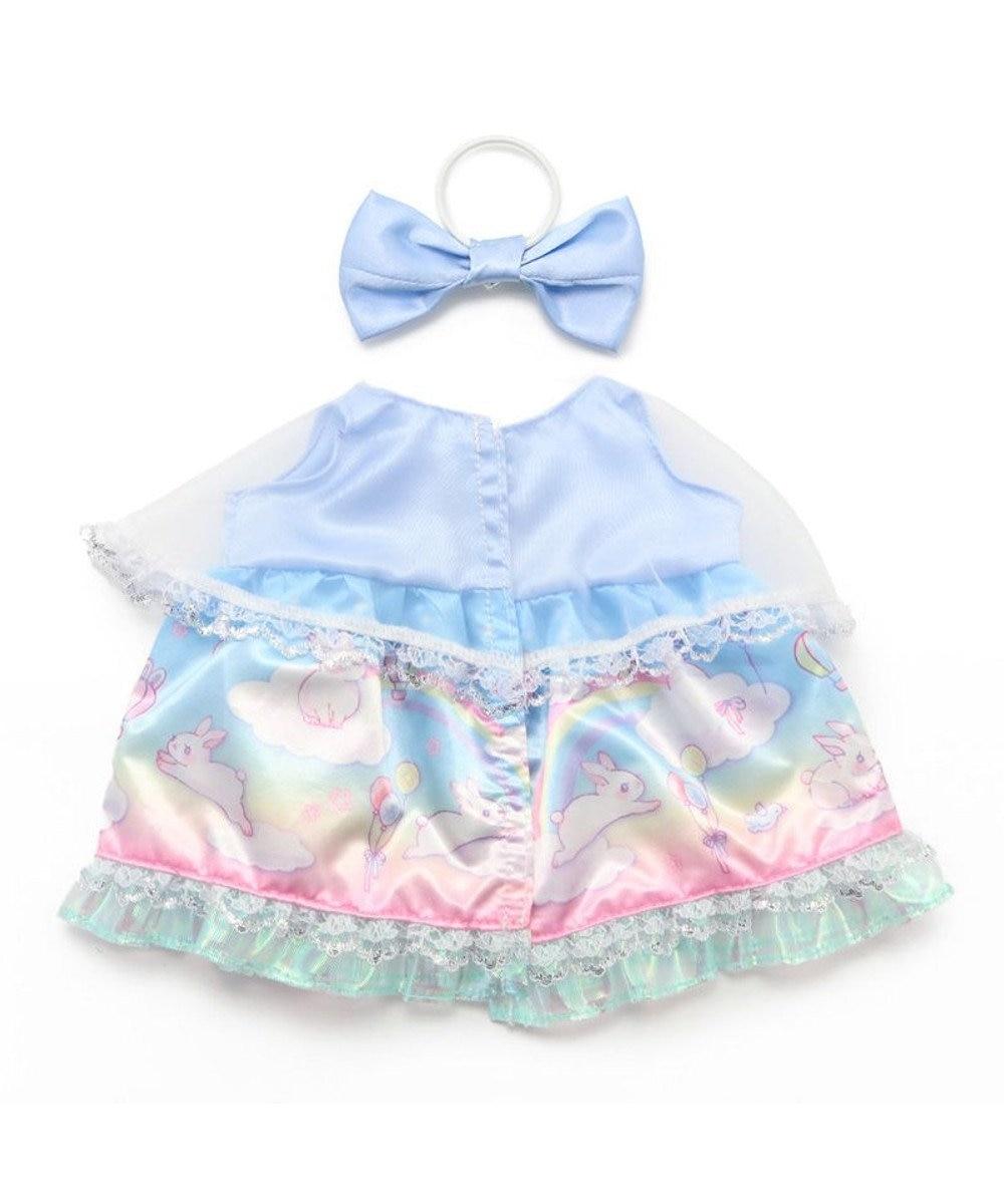 Mother garden マザーガーデン うさももMサイズ 着せ替え用お洋服 《空のうさぎドレス》 うさもも ドール服 知育玩具 女の子 おもちゃ 子供 キッズ 誕生日プレゼント うさもも 服 着せ替え 子ども ぬいどり ぬい撮り 水色