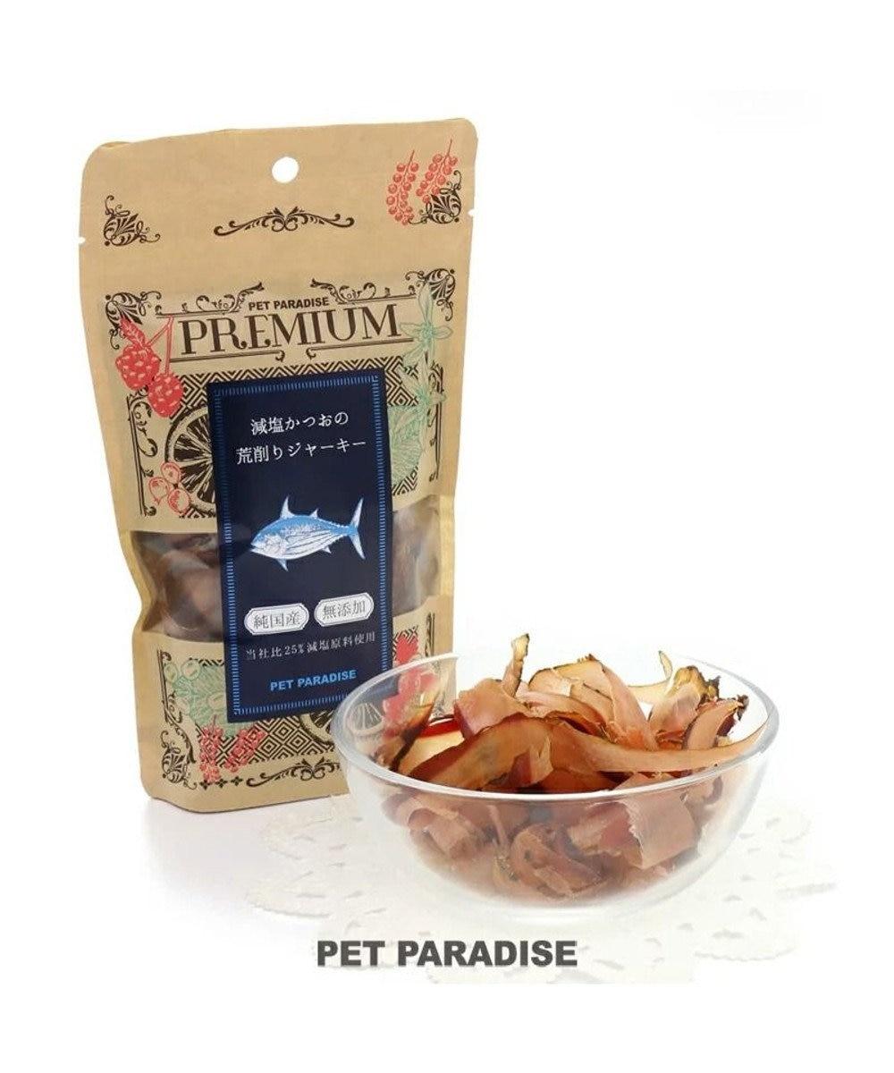 PET PARADISE 犬 おやつ 国産 フード ペットパラダイス 犬 猫 おやつ 国産 プレミアムフード 減塩かつお荒削りジャーキー 35g | 犬オヤツ 猫オヤツ 犬用 猫用 ペットフード -