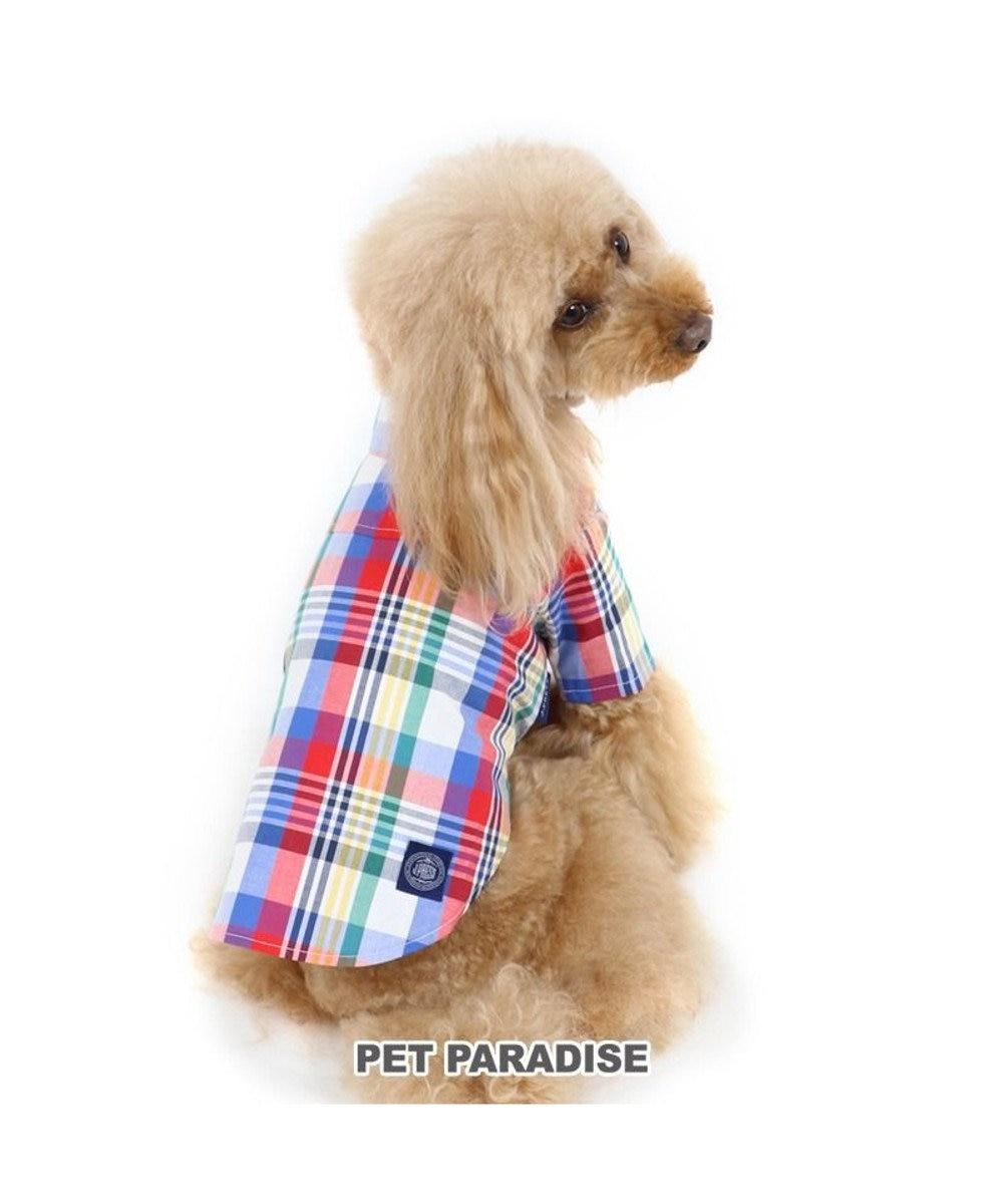 PET PARADISE 犬服 犬 服 ペットパラダイス J.PRESS マドラスチェック シャツ 〔小型犬〕 超小型犬 小型犬 マルチカラー