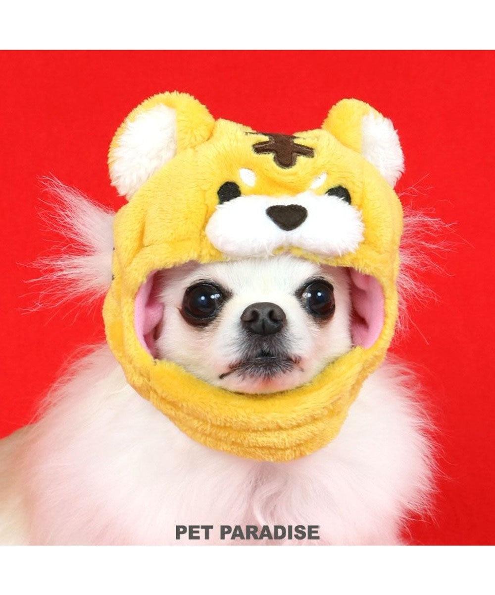 PET PARADISE 犬 帽子 トラ  〔小型犬〕 黄 虎 とら かぶりもの 被り物 お正月 年賀状 干支 2022年 SNS インスタ映え 着ぐるみ コスチューム コスプレ かわいい 黄