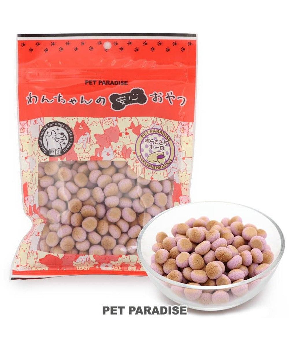 PET PARADISE 犬 おやつ 国産 大袋 紫いも ボーロ 160g オヤツ むらさきいも 紫芋 紫イモ ムラサキイモ 原材料・原産国
