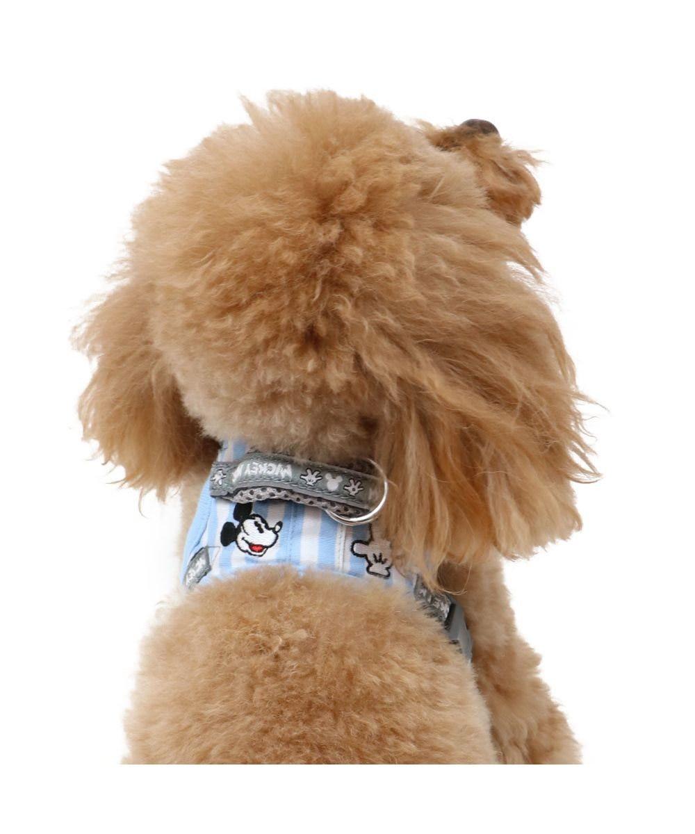 PET PARADISE 犬 ハーネス ペットパラダイス ディズニー ミッキーマウス やさしい ハーネス 3S 〔小型犬〕 水色
