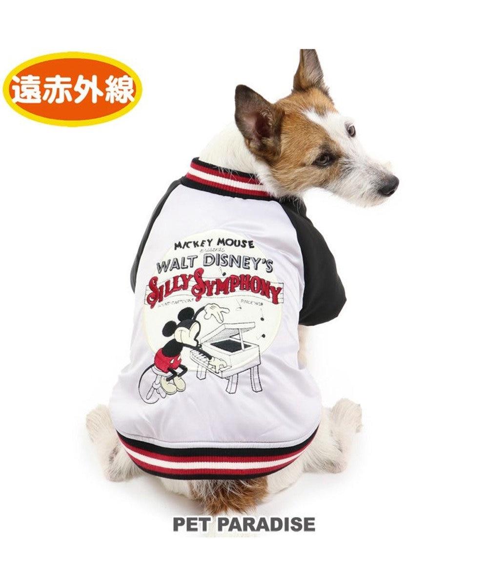 PET PARADISE 犬 服 秋服 遠赤外線 ディズニー ミッキーマウス ジャケット 〔小型犬〕 ピアノ柄 ペットウエア ペットウェア ドッグウエア ドッグウェア ベビー 超小型犬 小型犬 黒