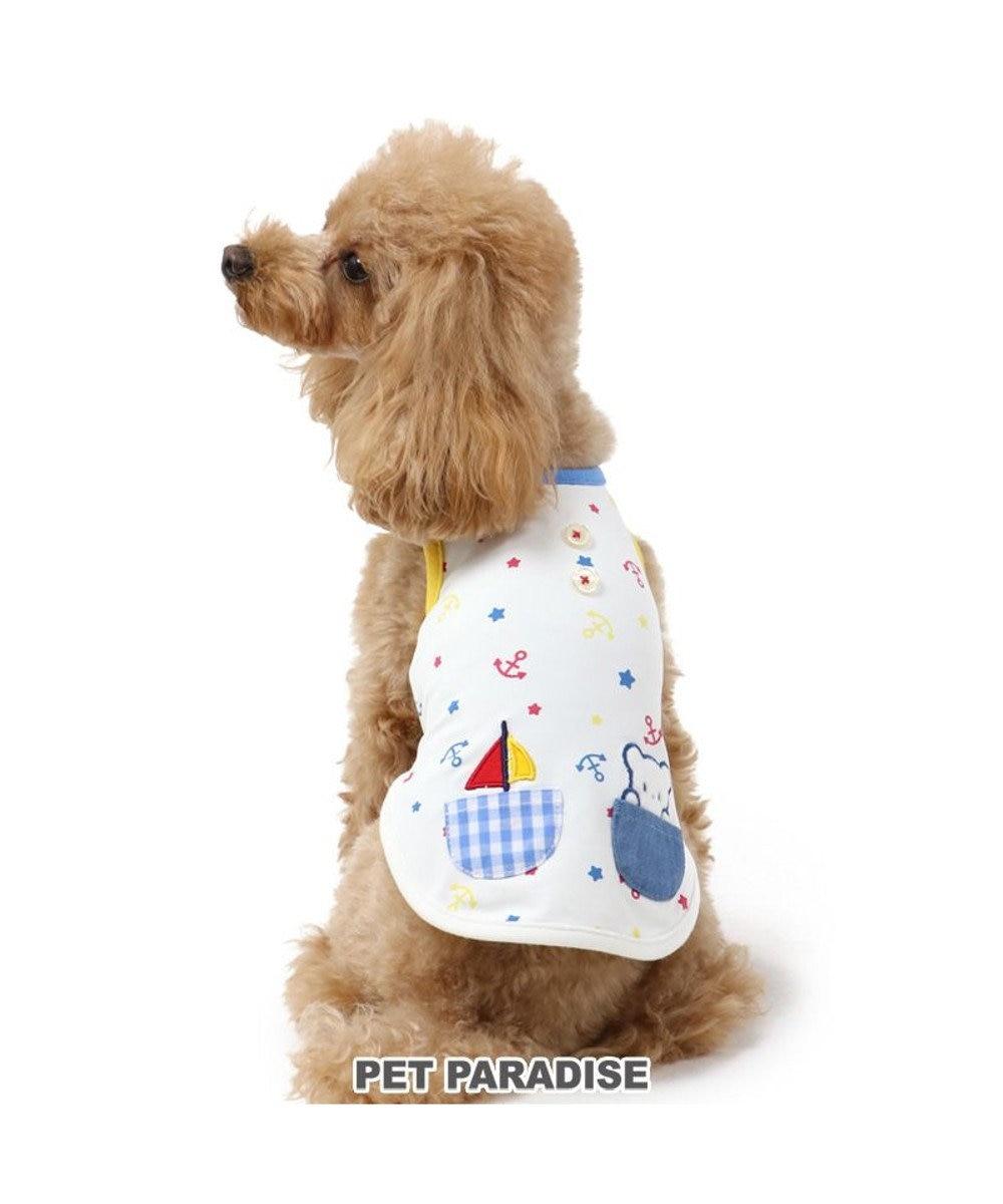 PET PARADISE 犬服 犬 服 ペットパラダイス しろくま クール 接触冷感 虫よけ タンクトップ 〔小型犬〕 超小型犬 小型犬 天竺 ひんやり 夏 涼感 冷却 吸水速乾 クールマックス 白~オフホワイト