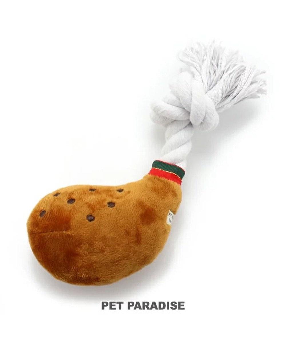 PET PARADISE 犬用品 ペットグッズ 犬 おもちゃ ペットパラダイス 犬 おもちゃ タンドリチキントイ 小   おうちで遊ぼう おうち時間 犬 おもちゃ オモチャ ペットのペットトイ 玩具 TOY 小型犬 おもちゃ かわいい おもしろ インスタ映え 茶系