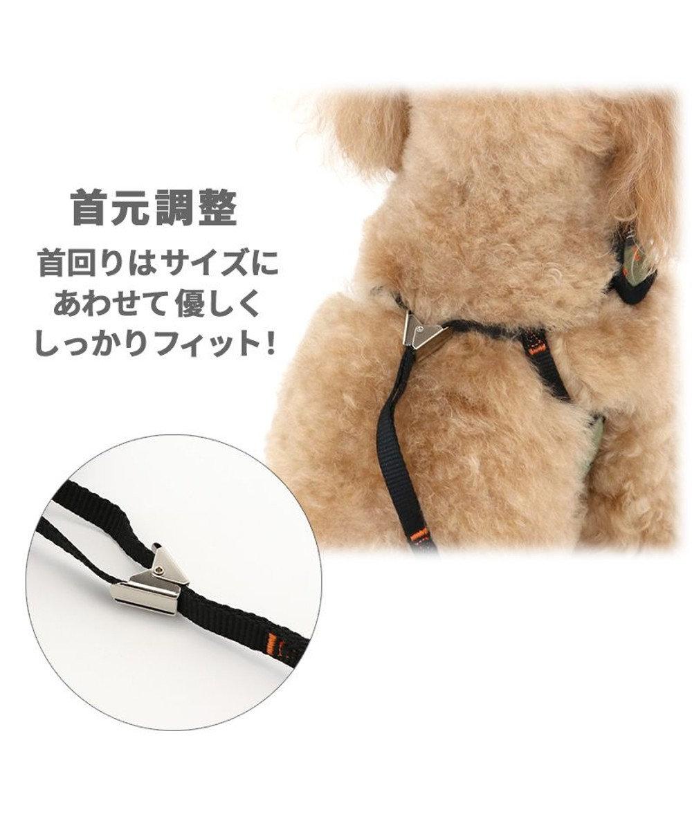 PET PARADISE 犬 ハーネス リード ハーネスリード 3S〔超小型犬〕 編み紐リード 小型犬 おさんぽ おでかけ お出掛け おしゃれ オシャレ かわいい カーキ