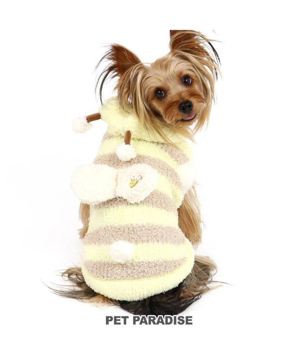 PET PARADISE 犬 服 秋服 パーカー 〔小型犬〕 蜂 もこふわ 犬服 犬の服 犬 服 ペットウエア ペットウェア ドッグウエア ドッグウェア ベビー 超小型犬 小型犬 黄