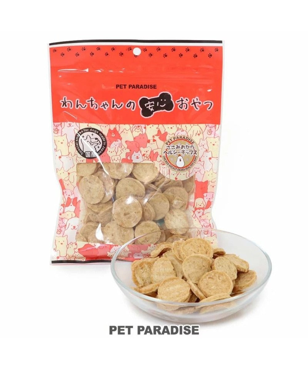PET PARADISE 犬 おやつ 国産 フード ペットパラダイス 犬 おやつ 国産 ささみおからチップ 100g   大袋 オヤツ 鶏肉 チキン ささみ チップス おから -
