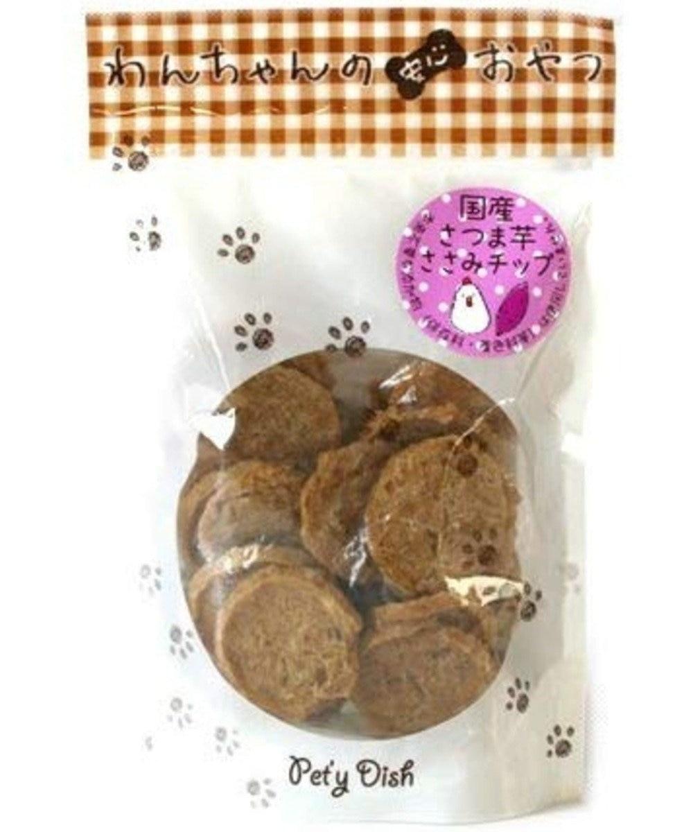 PET PARADISE 犬 おやつ 国産 フード ペットパラダイス 犬 おやつ 国産 さつま芋 ささみ チップ 50g   オヤツ 鶏肉 チキン チップス さつまいも サツマイモ 薩摩芋 -