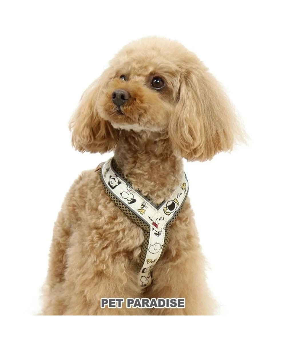 PET PARADISE  犬用品 ペットグッズ お散歩 ペットパラダイス 犬 ハーネス スヌーピー 【S】 アクティブハーネス   小型犬 おさんぽ おでかけ お出掛け おしゃれ オシャレ かわいい キャラクター カーキ