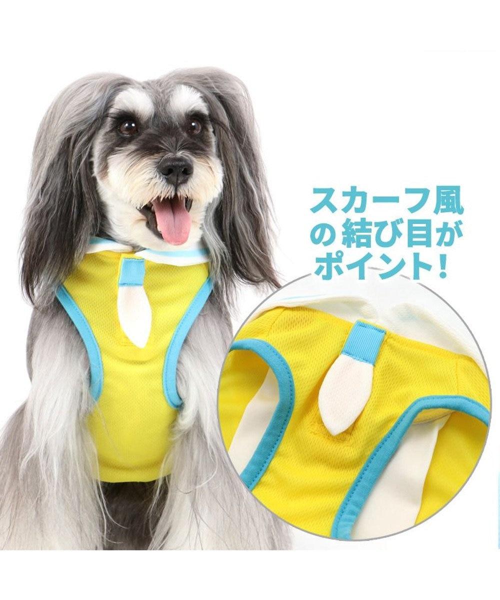 PET PARADISE 犬 服 春夏 保冷剤付き ディズニー くまのプーさん タンクトップ 〔小型犬〕 なごみプーさん ポケットクール ドッグウエア ドッグウェア イヌ おしゃれ かわいい ひんやり 夏 涼感 冷却 吸水速乾 黄
