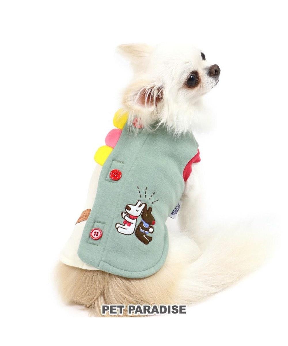 PET PARADISE 犬 服 リサとガスパール 背開き ベスト 〔小型犬〕 ブレイク | 犬服 犬の服 犬 服 ペットウエア ペットウェア ドッグウエア ドッグウェア ベビー 超小型犬 小型犬 グレー
