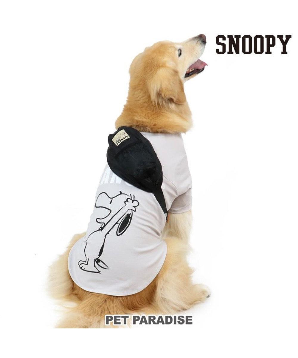 PET PARADISE 犬服 犬用品 ペットグッズ ペットウェア ペットパラダイス 犬 服 スヌーピー お揃い Tシャツ グレー 【中・大型犬】 ハッピー | おそろいドッグウエア ドッグウェア いぬ イヌ おしゃれ かわいい グレー