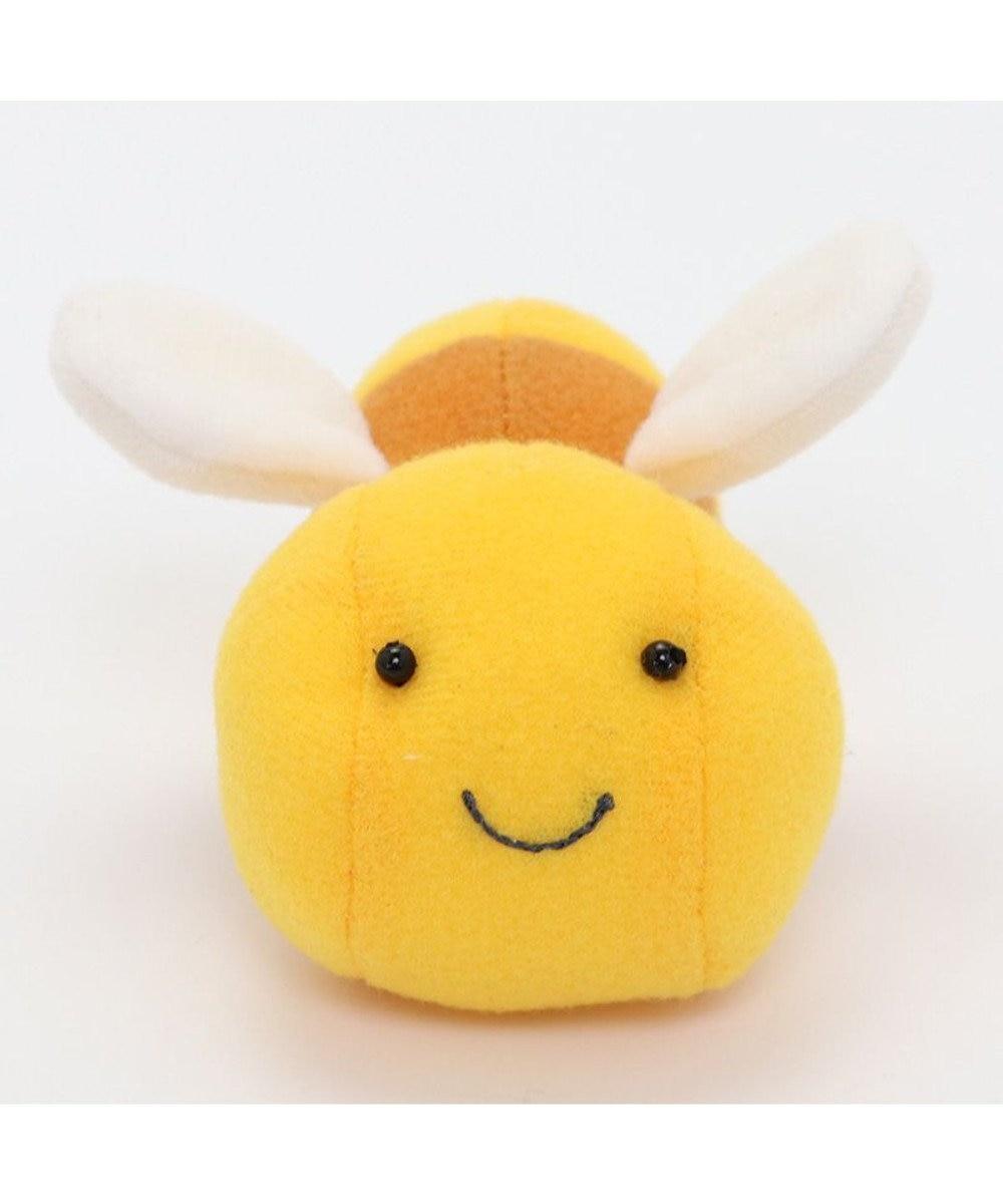 Mother garden マザーガーデン ぷんくま はちくん マスコット クリエイティブヨーコ 40周年 創業祭 記念 復刻商品 プチマスコット 手のひらサイズ はち ハチ 蜂 かわいい 小さい ぬいぐるみ 黄色
