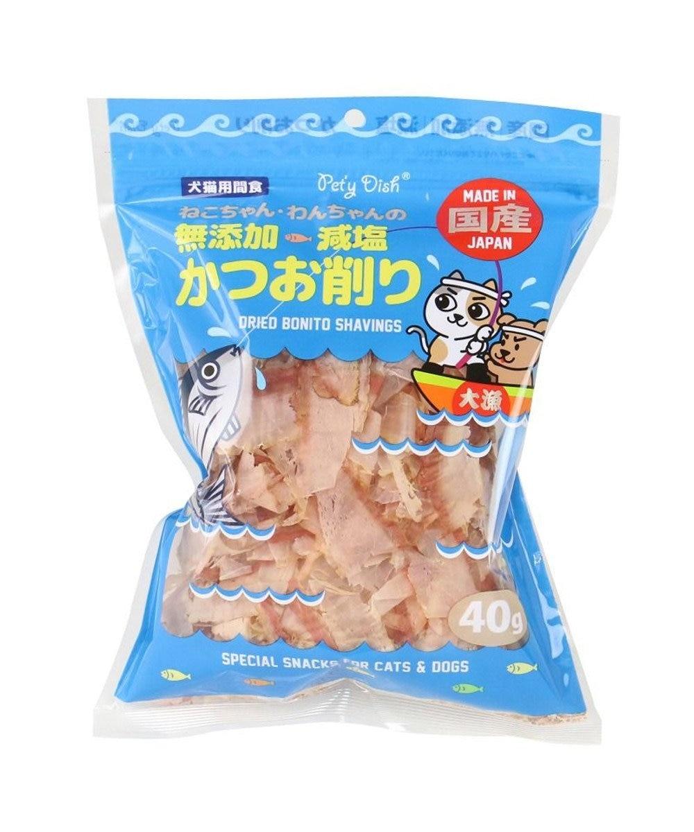 PET PARADISE 犬猫用減塩かつお削り -